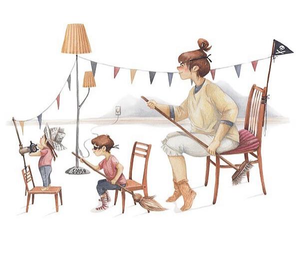 Ngày của Mẹ: Cùng ngắm bộ tranh về những điều thiêng liêng nhất dành cho con nhưng chưa bao giờ mẹ kể-5