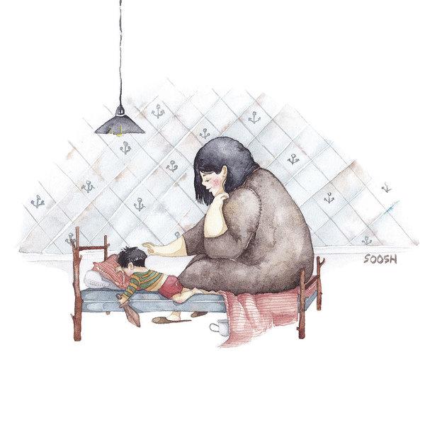Ngày của Mẹ: Cùng ngắm bộ tranh về những điều thiêng liêng nhất dành cho con nhưng chưa bao giờ mẹ kể-7