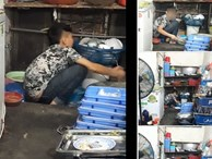 Câu chuyện cậu bé tỉnh lẻ 15 tuổi lên Hà Nội rửa bát kiếm tiền nuôi em khiến ai nấy xúc động