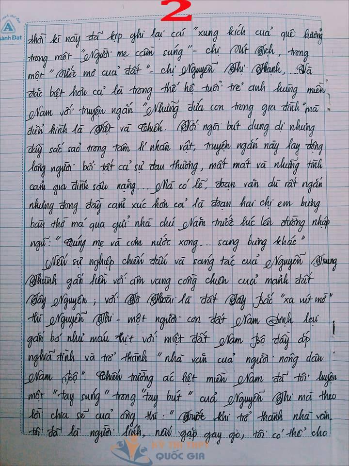 Bài văn 9,5 điểm về tình cảm gia đình khiến cô giáo phải thốt lên: Mọi ngôn từ đều trở nên bất lực!-2