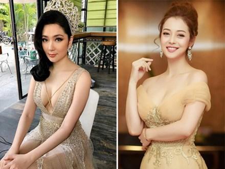 Nhan sắc quyến rũ của Nguyễn Thị Huyền và 4 hoa hậu làm MC