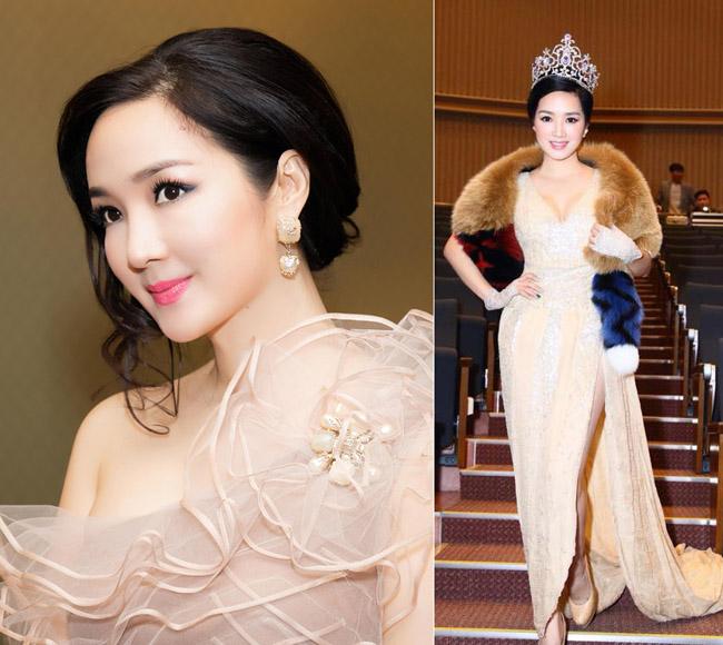 Nhan sắc quyến rũ của Nguyễn Thị Huyền và 4 hoa hậu làm MC-11