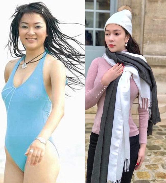Nhan sắc quyến rũ của Nguyễn Thị Huyền và 4 hoa hậu làm MC-6
