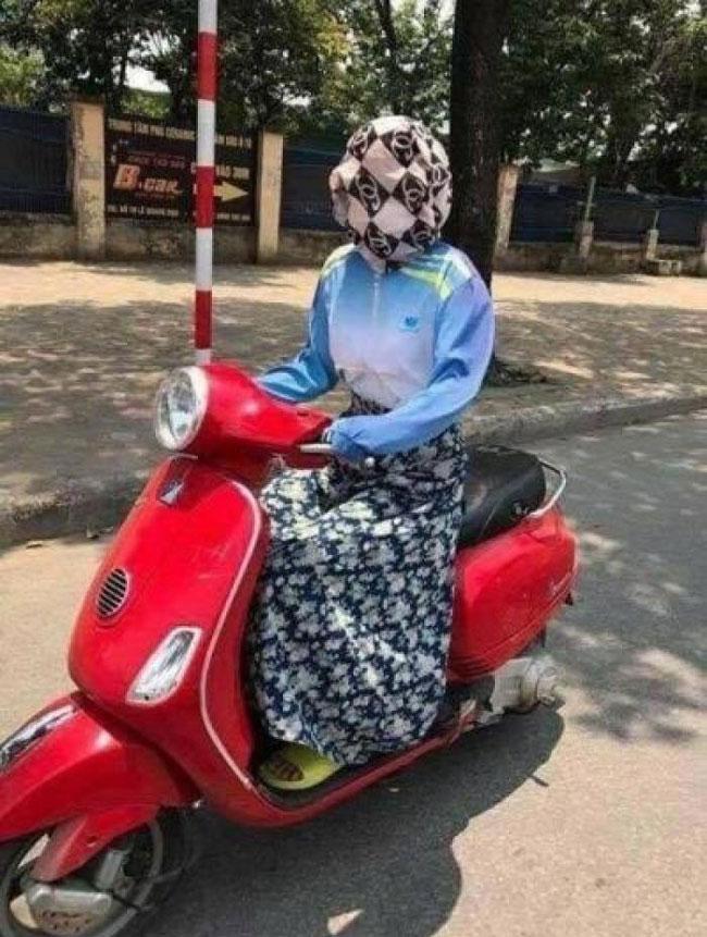 Ninja khoe sắc xuân mơn mởn trong bộ sưu tập áo chống nắng sặc sỡ-2