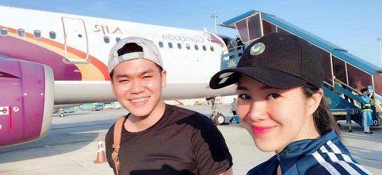Diễn viên Lan Phương đăng ký kết hôn với bạn trai Tây cao 2m-7