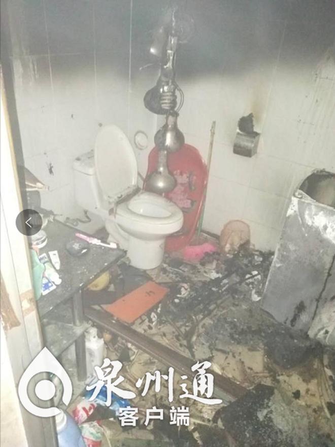 Phòng tắm bất ngờ bị cháy, hé lộ bí mật người đàn ông giấu diếm gia đình bấy lâu-2