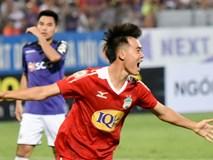 'CLB HAGL may mắn mới ghi được bàn vào lưới CLB Hà Nội'