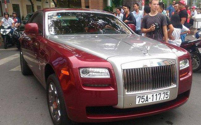 Đại gia Huế chơi Rolls-Royce Ghost biển ngũ quý 1 hơn 11 tỷ đồng-1