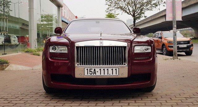 Đại gia Huế chơi Rolls-Royce Ghost biển ngũ quý 1 hơn 11 tỷ đồng-5