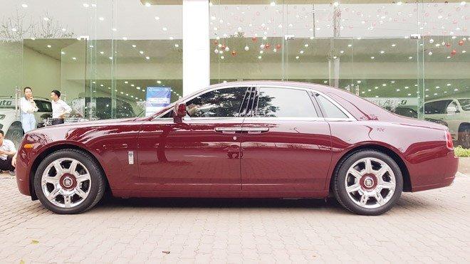 Đại gia Huế chơi Rolls-Royce Ghost biển ngũ quý 1 hơn 11 tỷ đồng-7