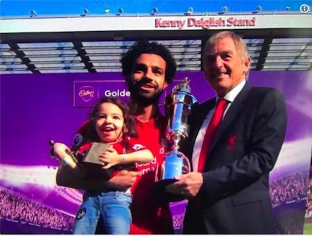 """Salah phải lập kỷ lục, bà xã xinh đẹp mới chịu xuất đầu lộ diện""""-3"""