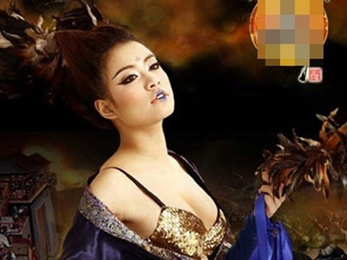 """Choáng với ngực khủng"""" Elly Trần, Ngọc Trinh khi hoá thân mỹ nữ cổ trang-11"""