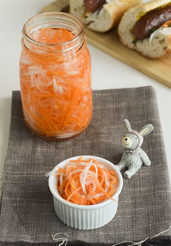 Bí quyết làm đồ chua ăn kèm món nào cũng ngon-8