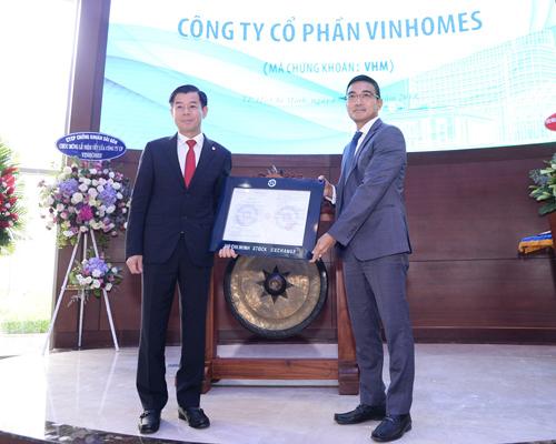 Vinhomes chính thức niêm yết 2,68 tỷ cổ phiếu mã VHM-1