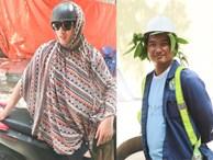 Muôn kiểu 'chống nắng nóng' của người Hà Nội trong những ngày đầu hè