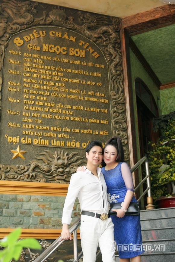 Danh ca Như Quỳnh lần đầu khám phá biệt thự triệu đô của Ngọc Sơn-3