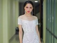 Hoa hậu Chuyển giới Quốc tế Hương Giang diện đầm trắng gợi cảm tái xuất thủ đô
