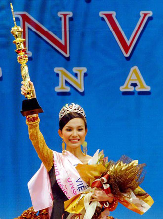 Nhan sắc và cuộc sống kín tiếng của Hoa hậu Hoàn vũ Việt Nam đầu tiên sau 10 năm đăng quang-3