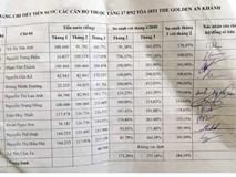 Tiền nước tăng 800%, dân chung cư ở Hà Nội hốt hoảng
