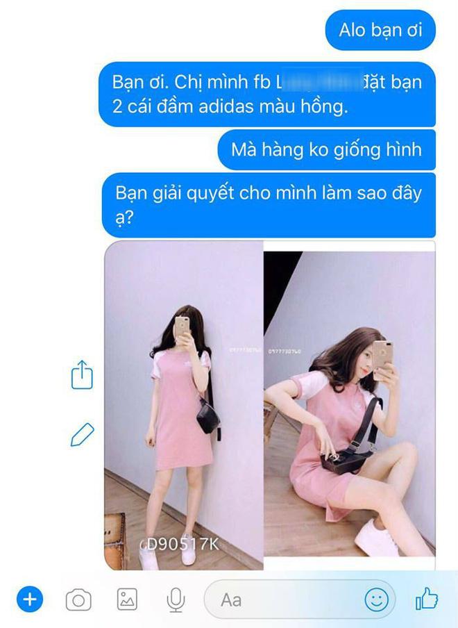 Bỏ 200 nghìn mua váy online khác xa hình, khách còn bị mắng chụp ảnh không có tâm-3
