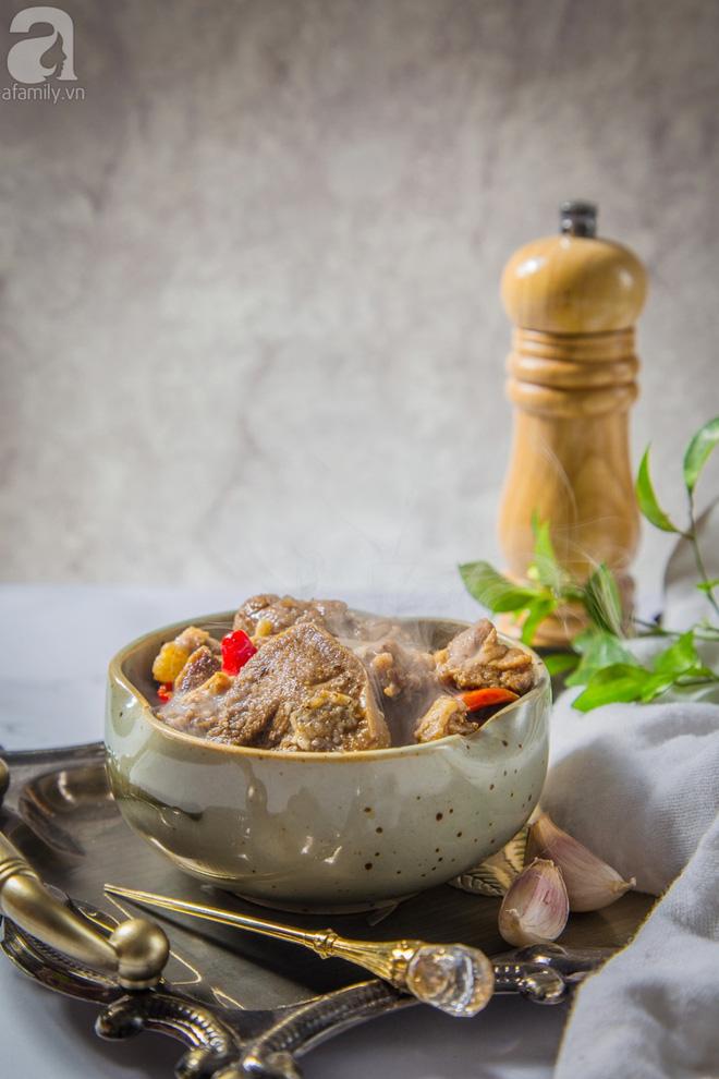 Món ngon cuối tuần: Lưỡi heo khìa nước dừa-7