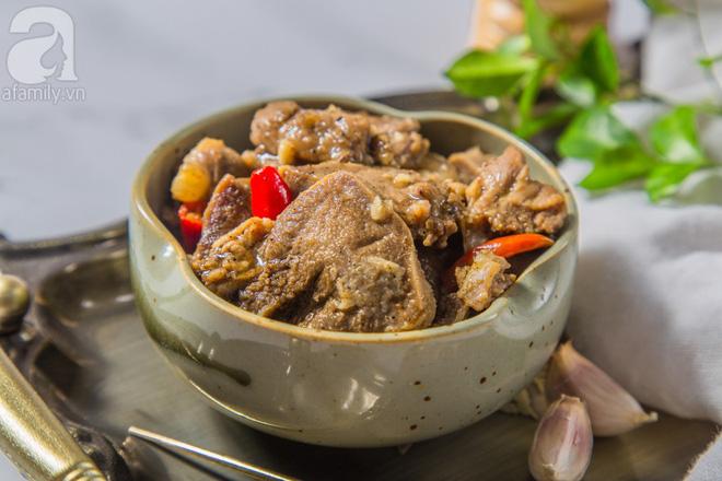 Món ngon cuối tuần: Lưỡi heo khìa nước dừa-1