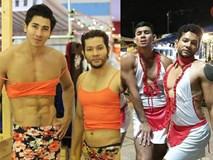Thời trang bồi bàn cười ra nước mắt của trai đẹp 6 múi Thái Lan