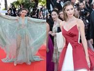 Thảm đỏ Cannes ngày bế mạc: Người nỗ lực diện váy áo xuyên thấu khoe thân, kẻ bị lộ nội y kém duyên