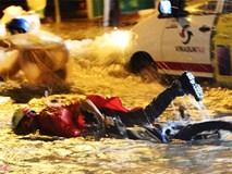 Người Sài Gòn lội nước ngập ngang bụng, ngã sấp mặt giữa đêm