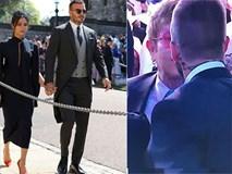 Fan 'dậy sóng' khi Elton John hôn David Beckham trong đám cưới Hoàng tử Anh