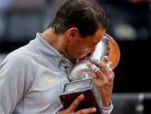 Nadal lần thứ 8 vô địch Rome Masters, trở lại số 1 thế giới
