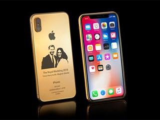 iPhone X phiên bản 'đám cưới Hoàng gia' giá 4.000 USD