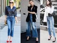 Quên jeans ống côn đi, mùa hè phải mặc kiểu quần jeans này mới mát!