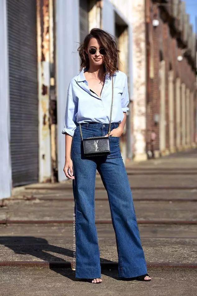 Quên jeans ống côn đi, mùa hè phải mặc kiểu quần jeans này mới mát!-10
