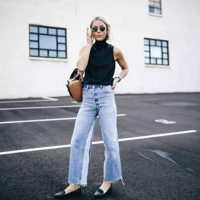 Quên jeans ống côn đi, mùa hè phải mặc kiểu quần jeans này mới mát!-13