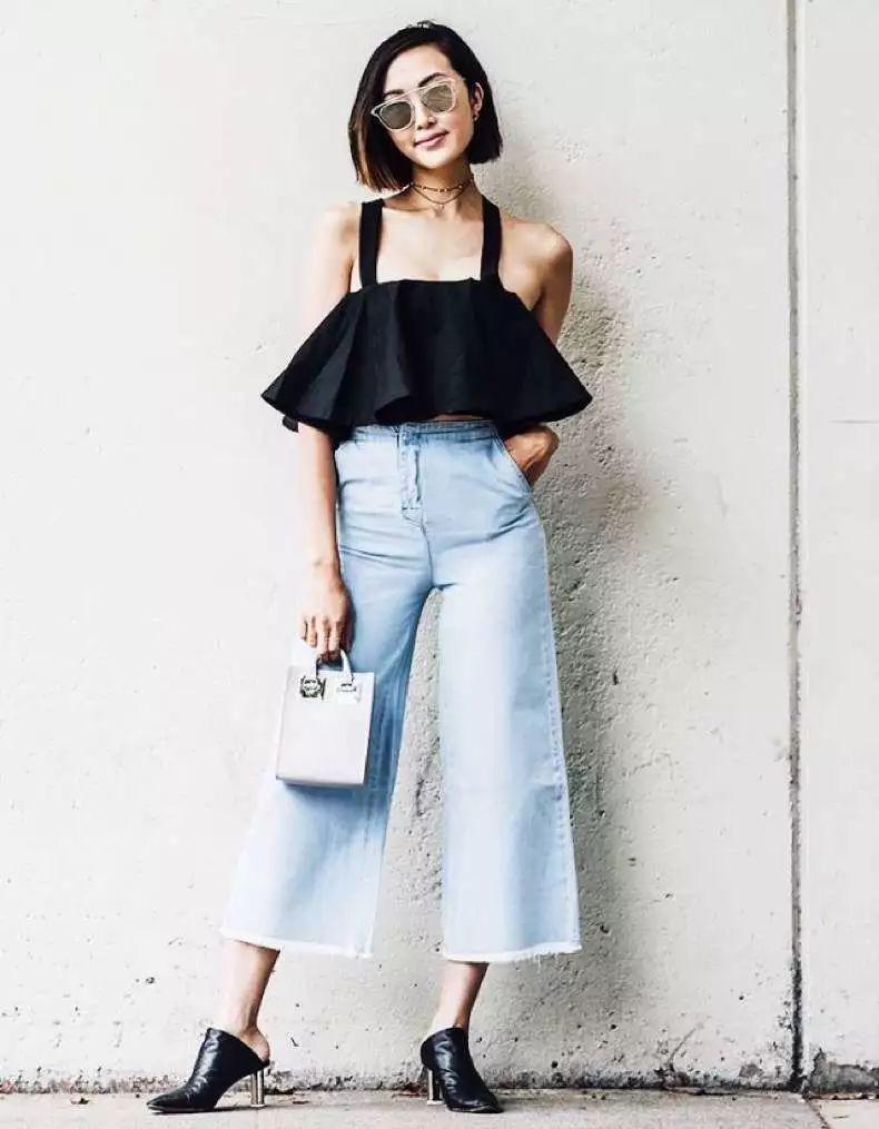 Quên jeans ống côn đi, mùa hè phải mặc kiểu quần jeans này mới mát!-14