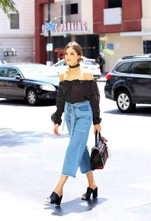 Quên jeans ống côn đi, mùa hè phải mặc kiểu quần jeans này mới mát!-8