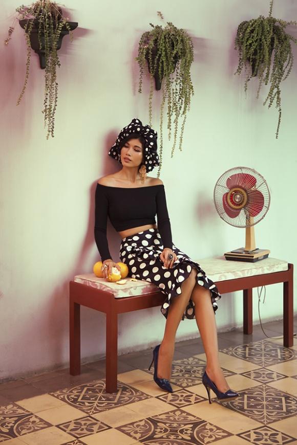 Trang Lạ hóa người đẹp La tinh tại biệt thự riêng với phong cách Havana Cuba-6