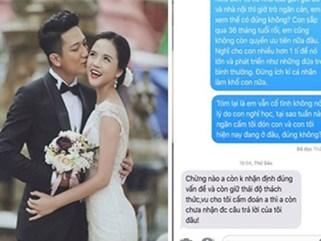 Chí Nhân tung đoạn tin nhắn với vợ cũ sau khi không gặp được con vì có người 'cố tình giấu đi'