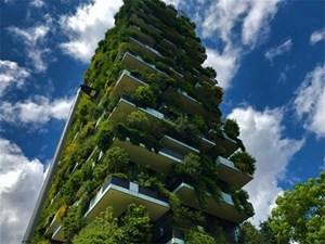 Lạ kì tòa chung cư như rừng xanh dựng đứng giữa lòng thành phố
