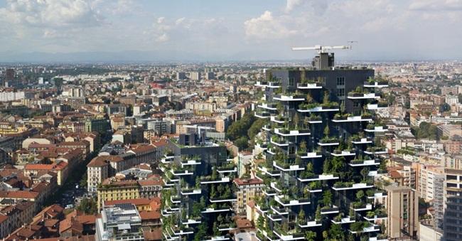 Lạ kì tòa chung cư như rừng xanh dựng đứng giữa lòng thành phố-1