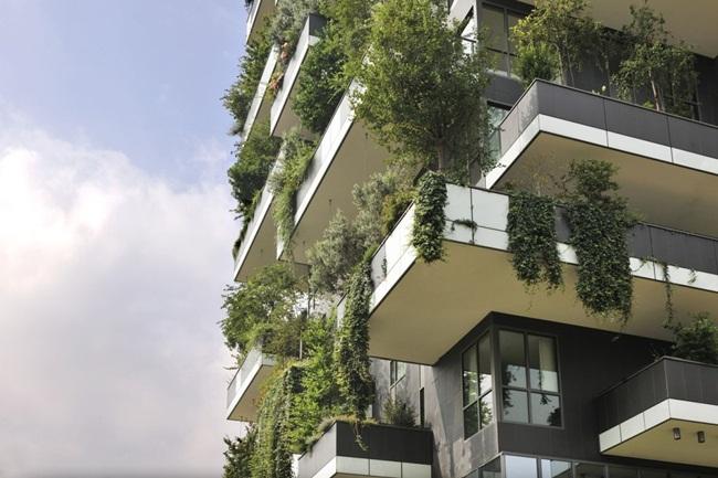 Lạ kì tòa chung cư như rừng xanh dựng đứng giữa lòng thành phố-2