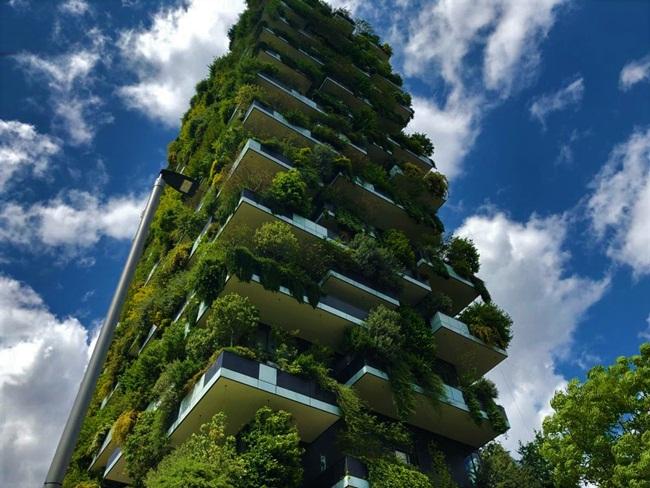 Lạ kì tòa chung cư như rừng xanh dựng đứng giữa lòng thành phố-6