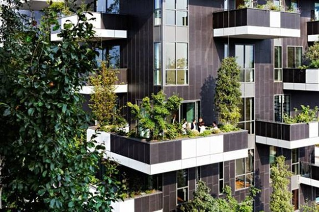 Lạ kì tòa chung cư như rừng xanh dựng đứng giữa lòng thành phố-8