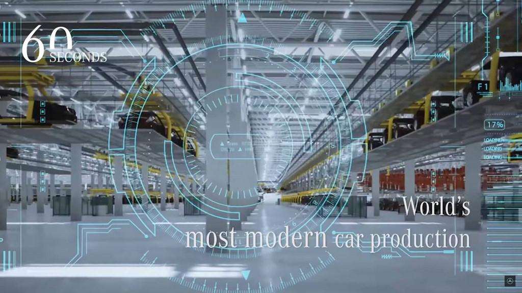 Hình ảnh đầu tiên của nhà máy Mercedes hiện đại nhất thế giới-8