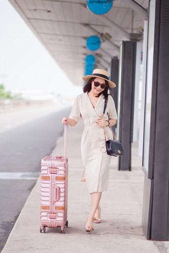 Bảo Thanh tung bộ ảnh rạng rỡ xinh đẹp trước khi bay đi Hàn Quốc-3