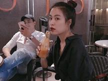 Hoàng Thùy Linh công khai hào hứng khoe được Vĩnh Thụy 'đưa đi giải ngố'