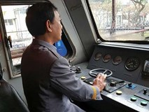Trải lòng của người lái tàu hơn 30 năm: