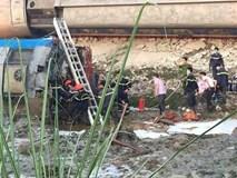 Vụ lật tàu hỏa tại Thanh Hóa diễn ra như thế nào?