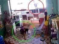 Video: Táo tợn đấm ngã nữ chủ tiệm, cướp 2 điện thoại rồi bỏ chạy
